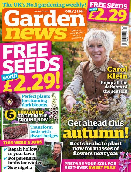 Garden News October 23, 2018 00:00