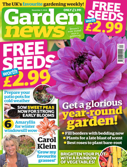 Garden News October 30, 2018 00:00