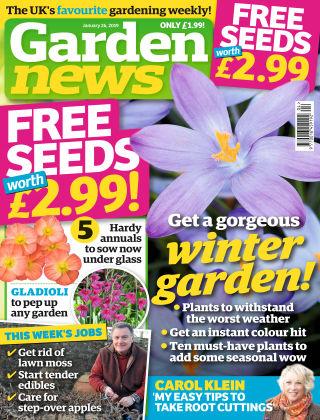 Garden News Jan 26 2019
