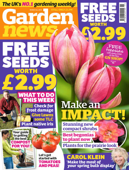 Garden News March 12, 2019 00:00