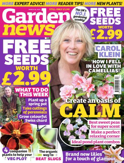 Garden News March 26, 2019 00:00