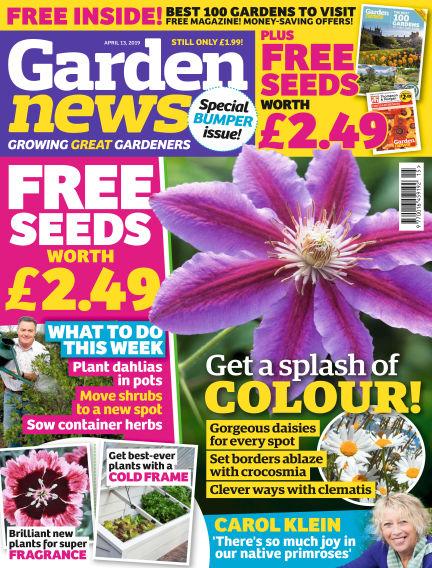 Garden News April 09, 2019 00:00