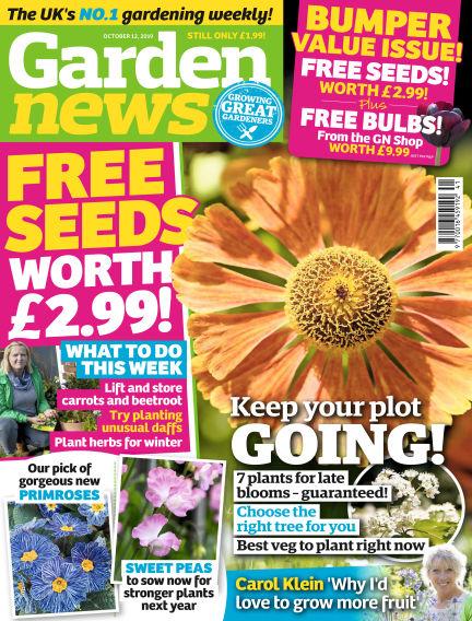 Garden News October 08, 2019 00:00