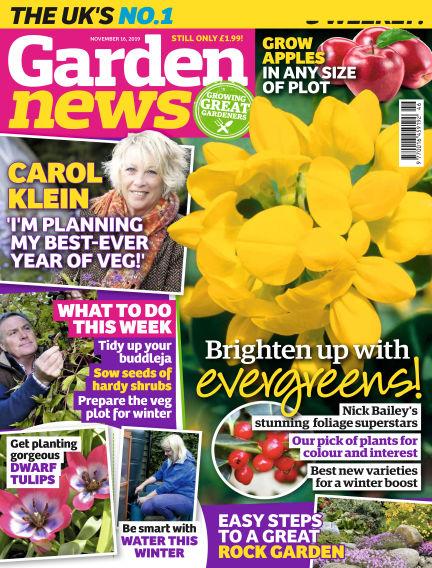 Garden News November 12, 2019 00:00