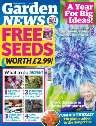 Garden News Jan 25 2020