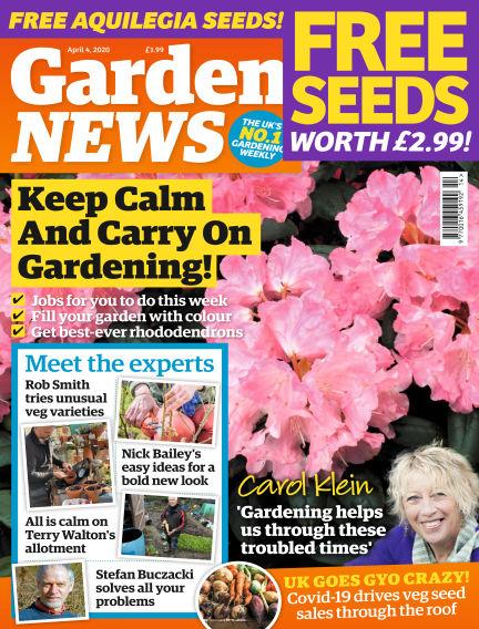 Garden News March 31, 2020 00:00