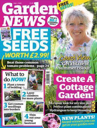 Garden News 4th July 2020