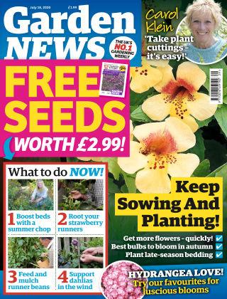 Garden News 18th July 2020