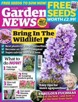 Garden News 25th July 2020