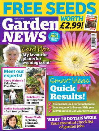 Garden News 1st August 2020