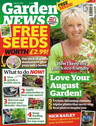 Garden News 8th August 2020