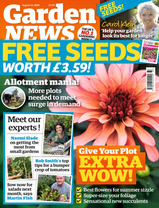 Garden News 15th August 2020