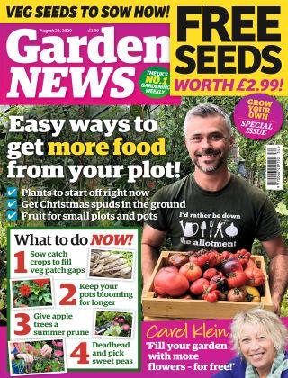 Garden News 22nd August 2020
