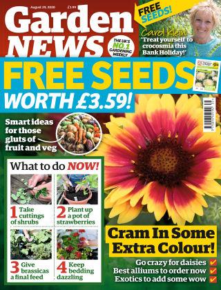 Garden News 29th August 2020