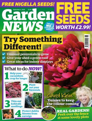 Garden News 5th September 2020