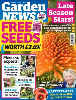 Garden News 12th September 2020