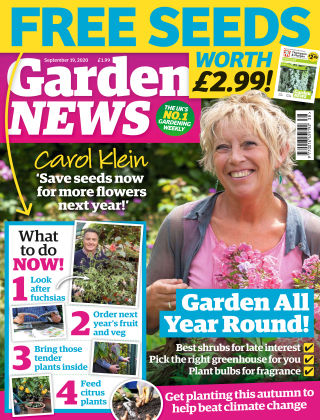 Garden News 19th September 2020