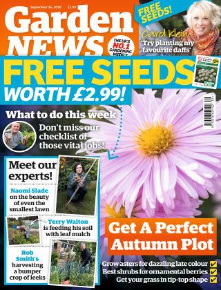 Garden News 26th September 2020