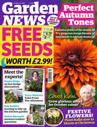 Garden News October 10th 2020