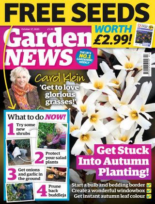 Garden News 17th October 2020