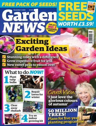 Garden News 7th November 2020