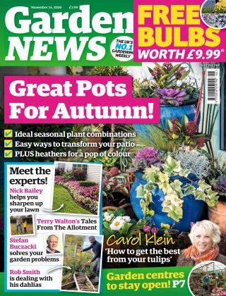 Garden News 14th November 2020