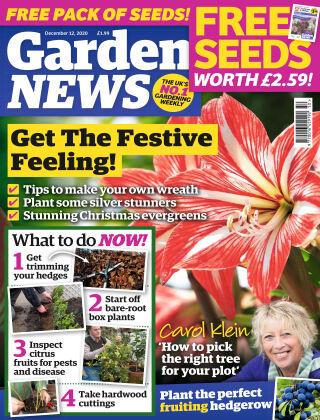 Garden News 12th December 2020