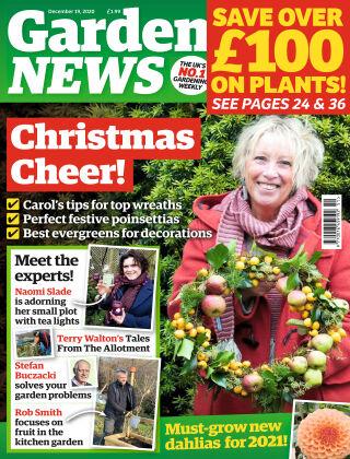 Garden News 19th December 2020