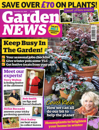 Garden News 22nd December 2020