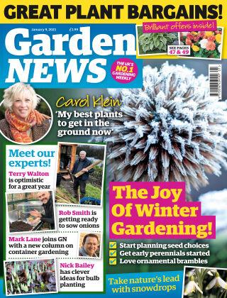 Garden News 9th January 2021