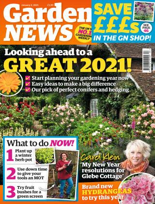 Garden News 2nd January 2021