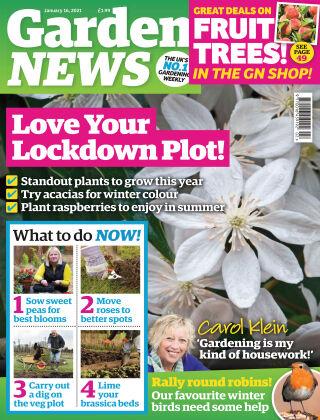 Garden News 16th January 2021