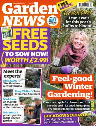 Garden News 23rd January 2021