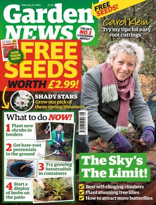 Garden News 27th February 2021
