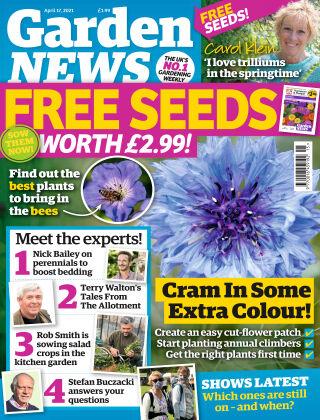 Garden News 17th April 2021