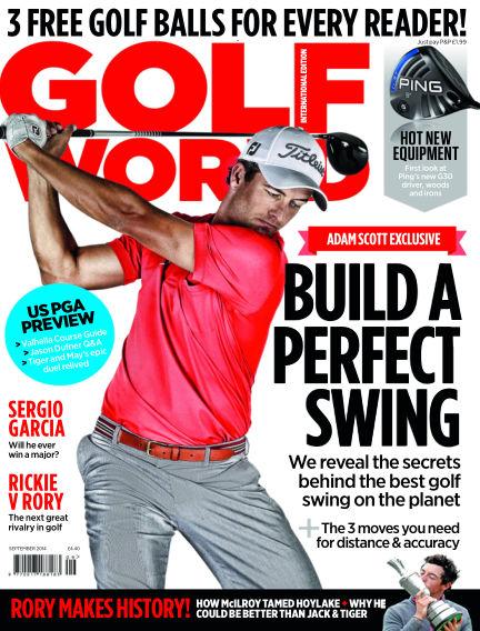 Golf World July 31, 2014 00:00