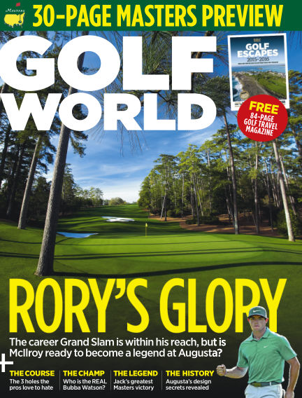 Golf World March 12, 2015 00:00