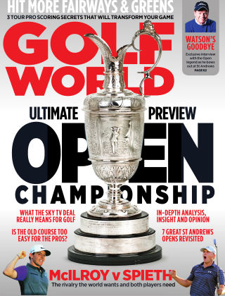 Golf World The Open Issue 2015