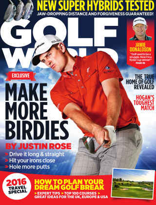 Golf World April 2016