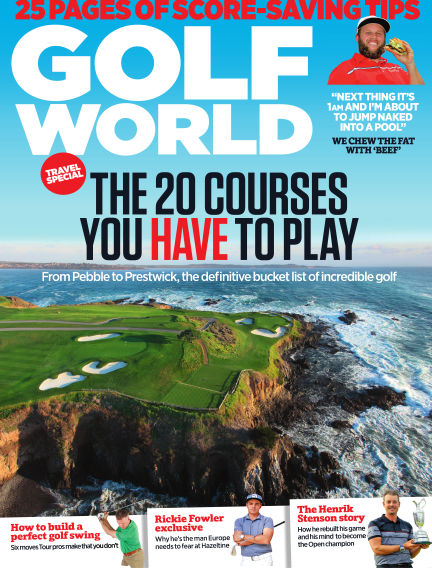 Golf World August 25, 2016 00:00