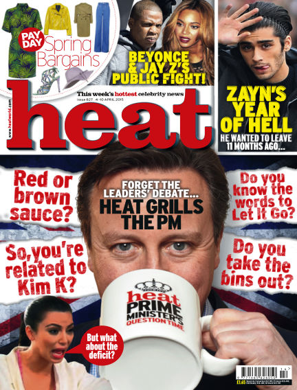 Heat March 31, 2015 00:00