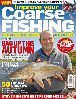 Improve Your Coarse Fishing Oct 1 - Oct 29, 2014