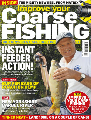 Improve Your Coarse Fishing Sept 3 - Oct 1, 2014