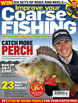 Improve Your Coarse Fishing Jan 22-Feb 19, 2014