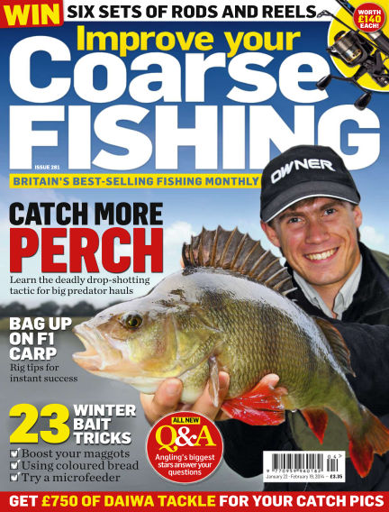 Improve Your Coarse Fishing January 22, 2014 00:00