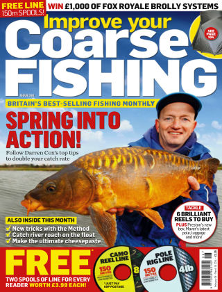 Improve Your Coarse Fishing Feb 19-Mar 19, 2014