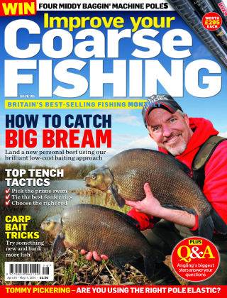 Improve Your Coarse Fishing Apr 15-May 14, 2014