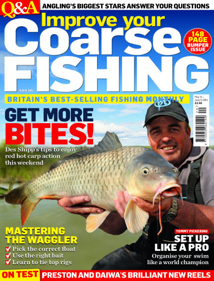 Improve Your Coarse Fishing May 14, 2014 00:00