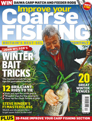 Improve Your Coarse Fishing Dec 23 - Jan 21 2015