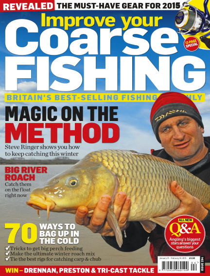 Improve Your Coarse Fishing January 21, 2015 00:00